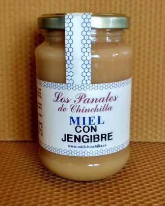 Miel cruda con jengibre