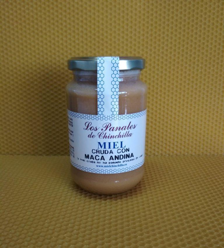 miel con maca